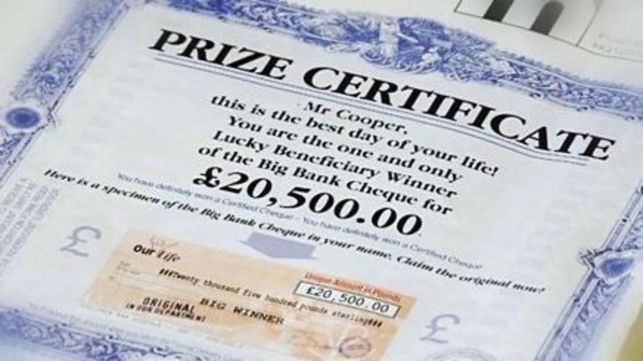 Alan's story big cash prizes