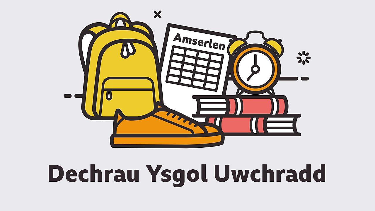 Dechrau Ysgol Uwchradd – Gwybodaeth am yr ymgyrch