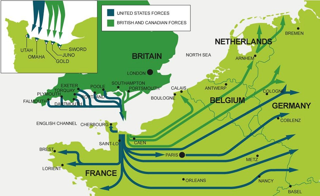 D-Day 75: How close did D-Day come to failure? - BBC Teach