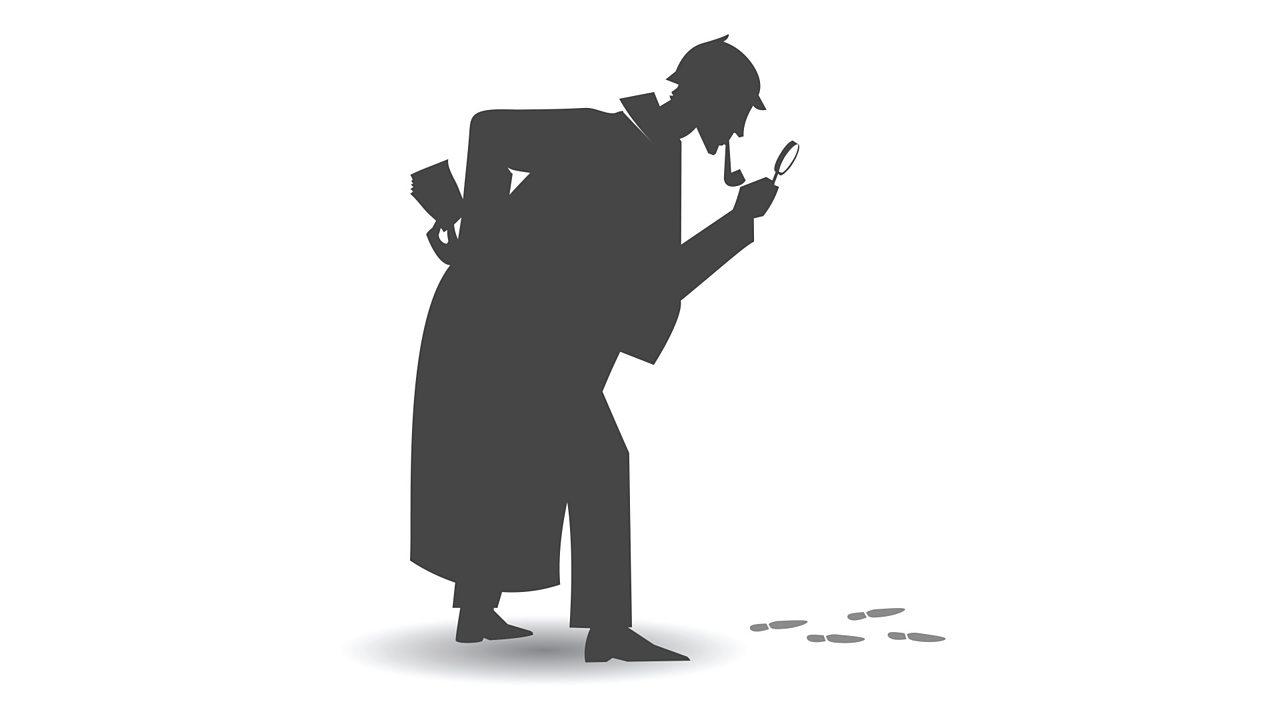 Pwy sydd tu ôl i Sherlock Holmes?