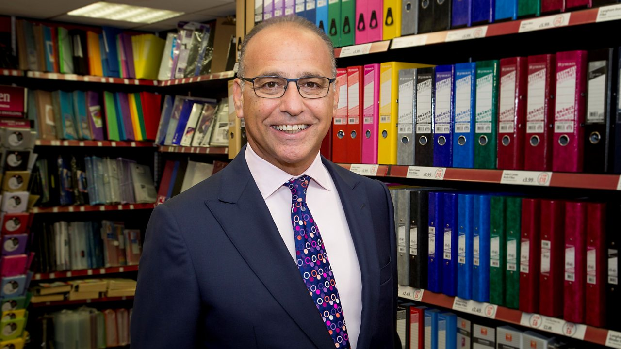 Back to school with Theo Paphitis
