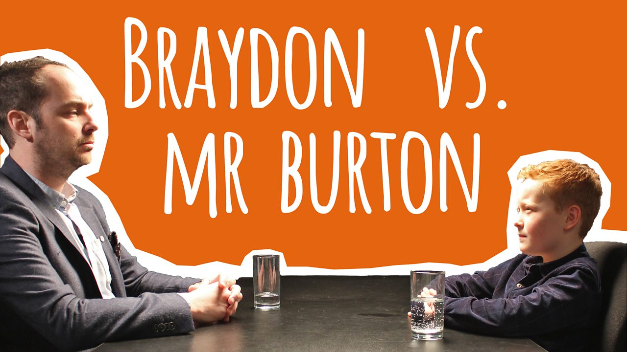 Braydon vs Mr Burton: the truth about starting secondary school
