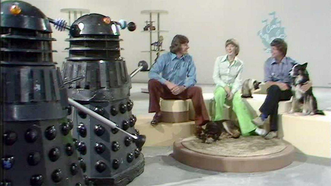 Blue Peter solves Daleks mystery, 1973