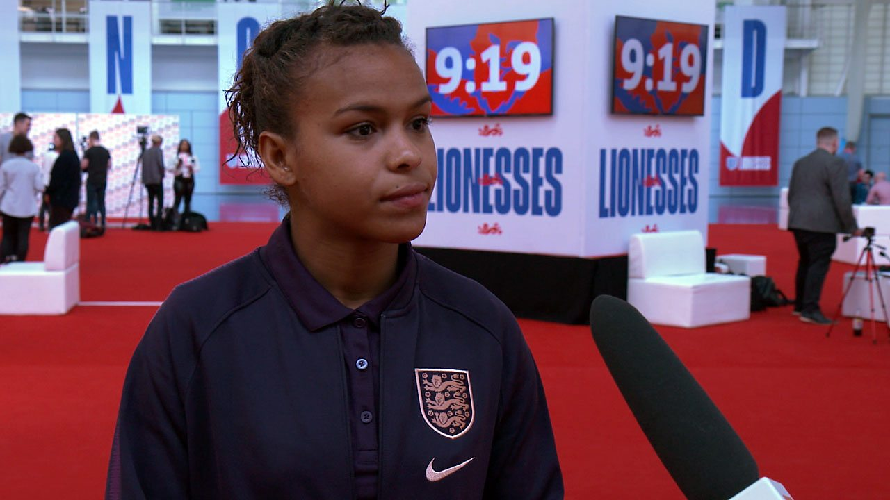 Professional football: top tips from England's Women's World Cup team