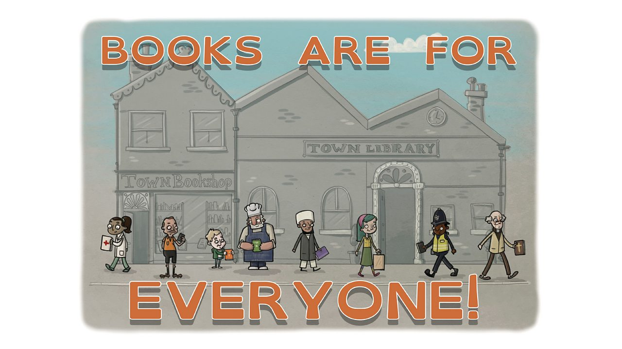 Look in a Book: Books are for Everyone