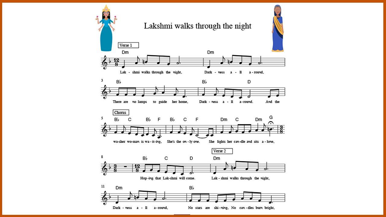 Music: Lakshmi walks through the night