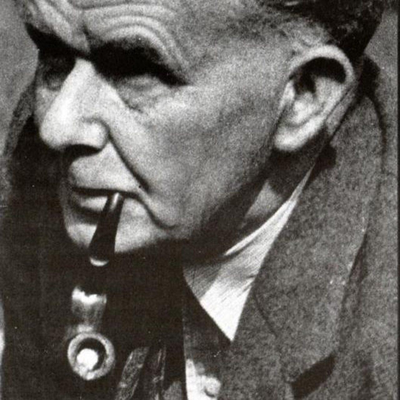 Photograph of the potato breeder John Clarke