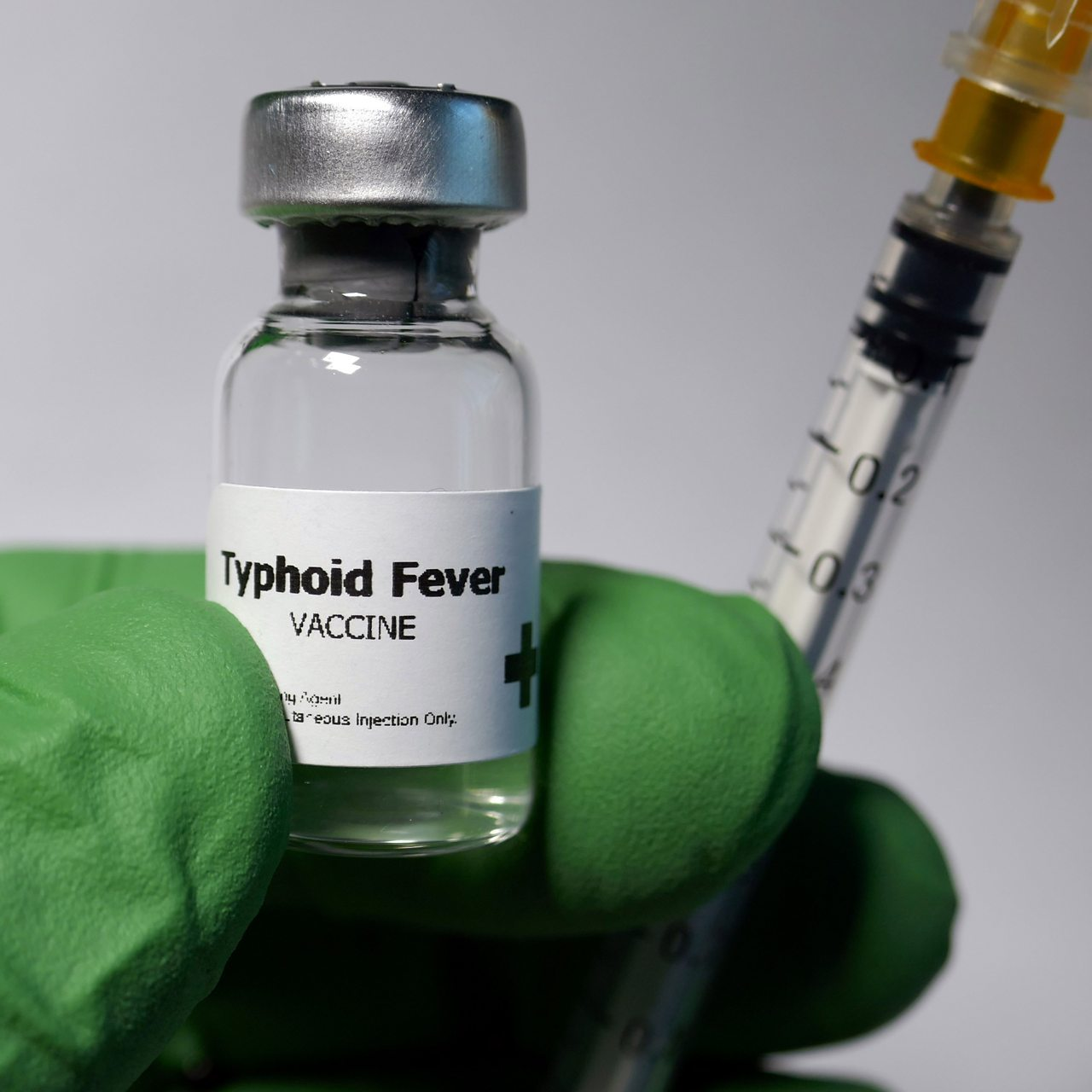 Photograph of Typhoid Fever vaccine