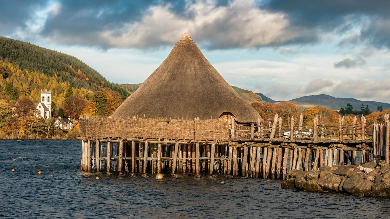 The Scottish Crannog Centre on Loch Tay in Perthshire