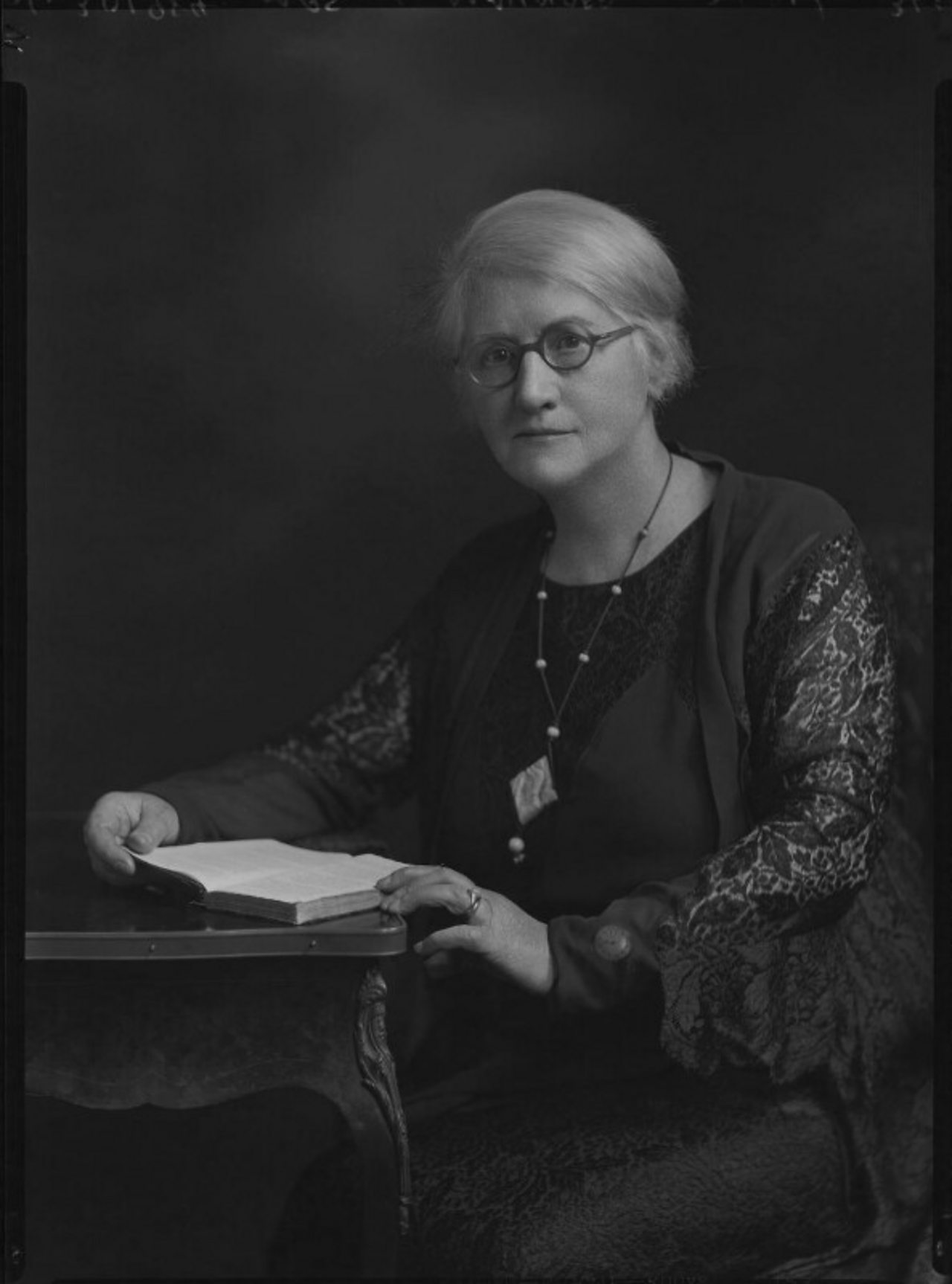 Photograph of the astronomer Annie Scott Dill Maunder