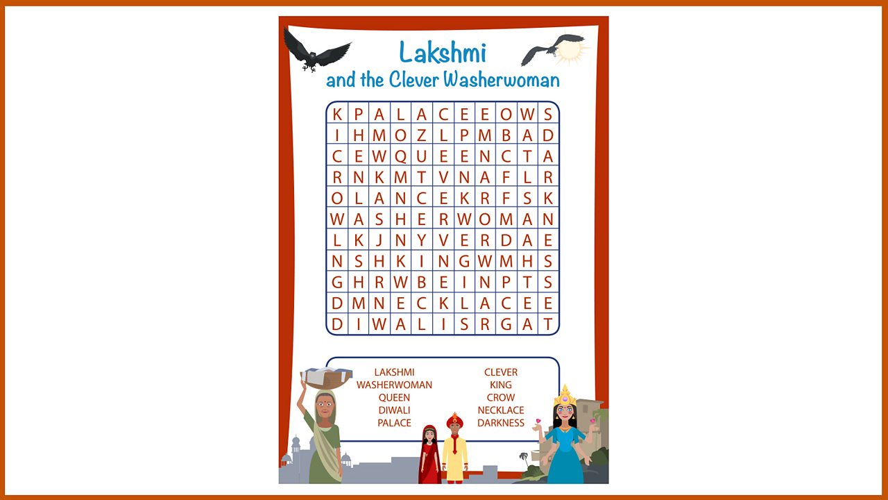 Resource Sheet 11: Word search puzzle