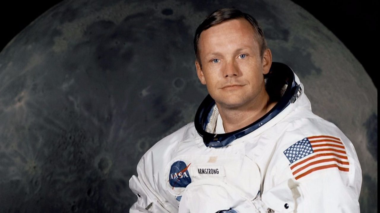 Neil Armstrong - First human on the Moon
