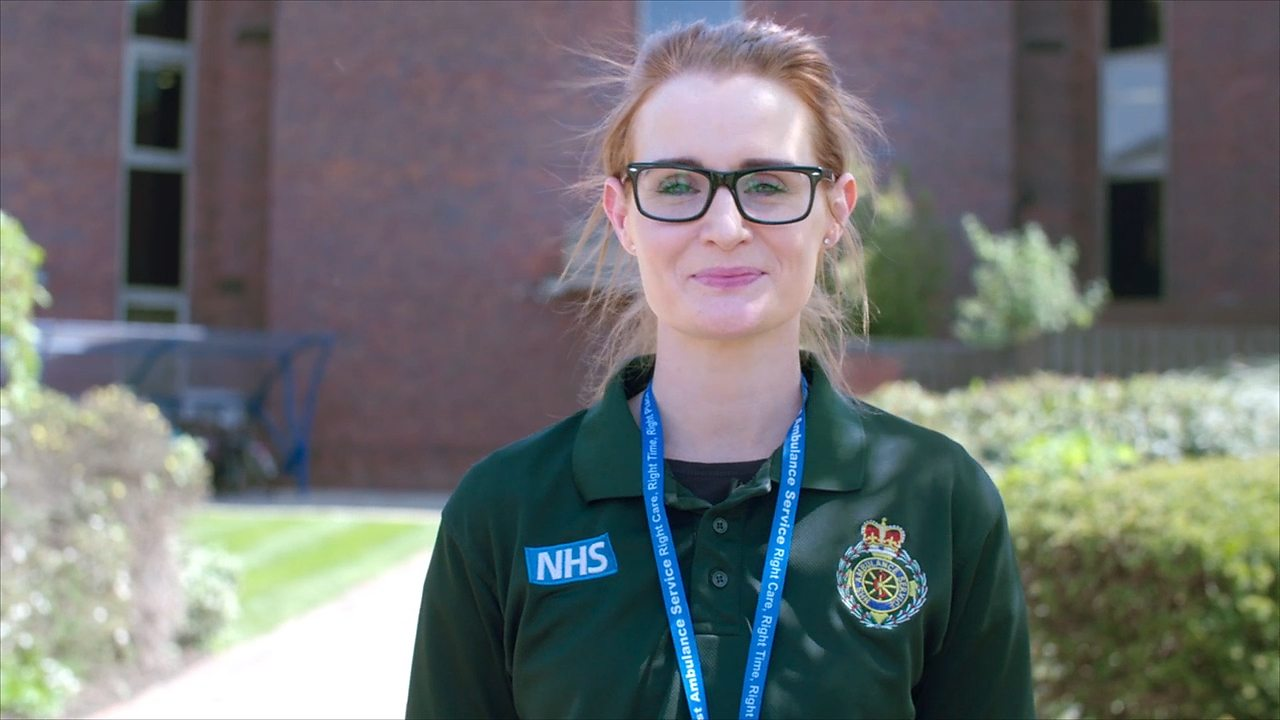 Becky: urgent care desk paramedic