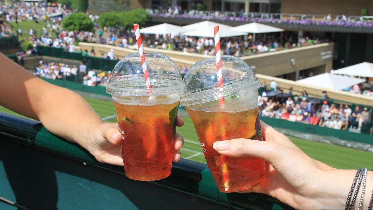 Pimms at Wimbledon
