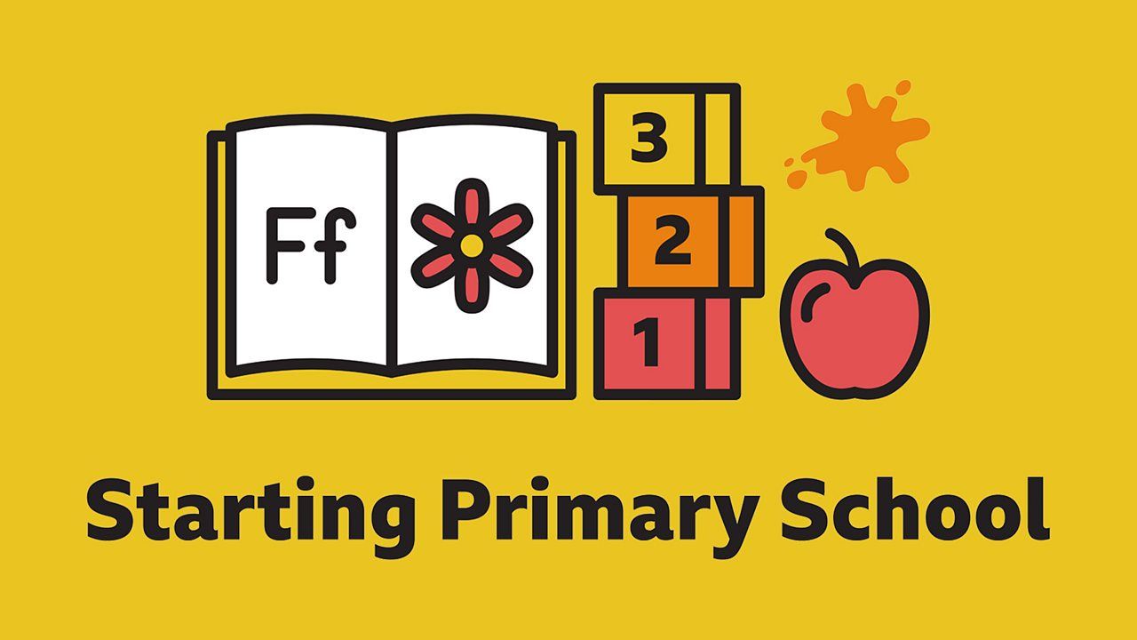 Starting Primary School homepage