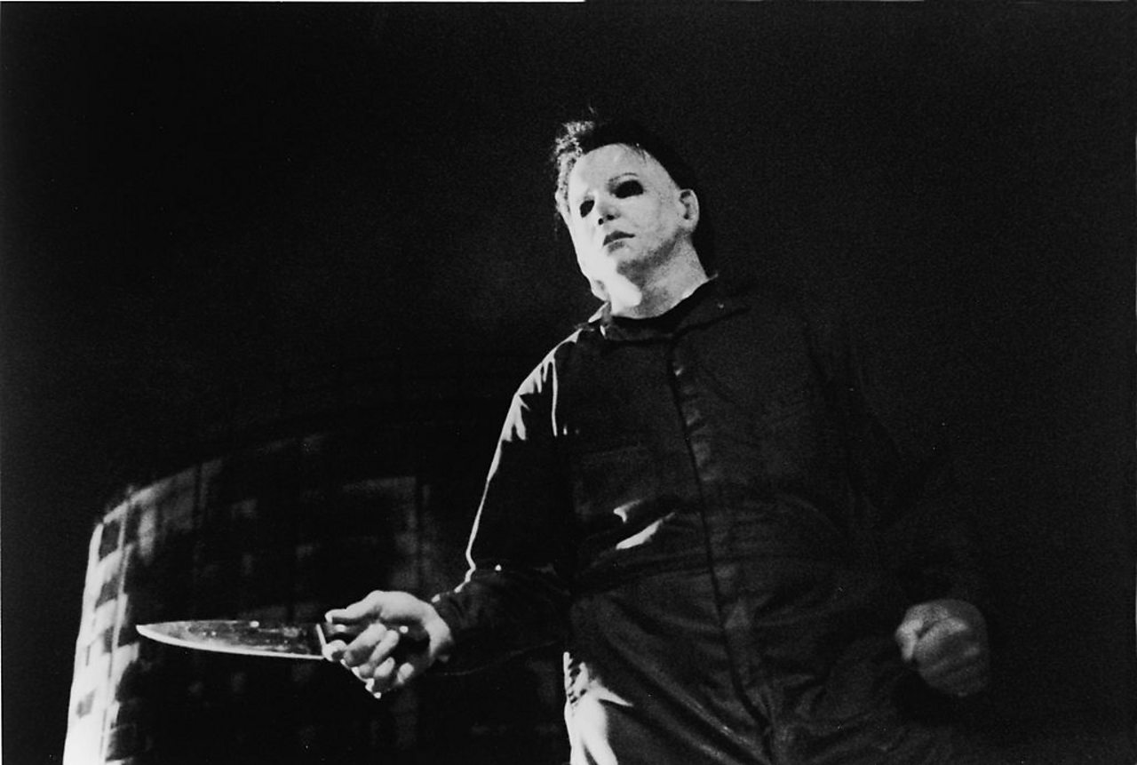 Michael Myers from the film 1978 film 'Halloween'.