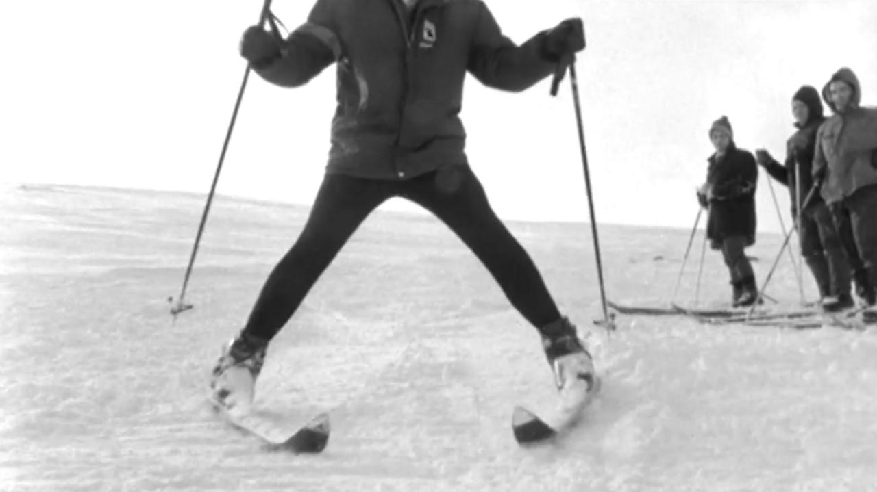 Aviemore skiing weekend, 1970