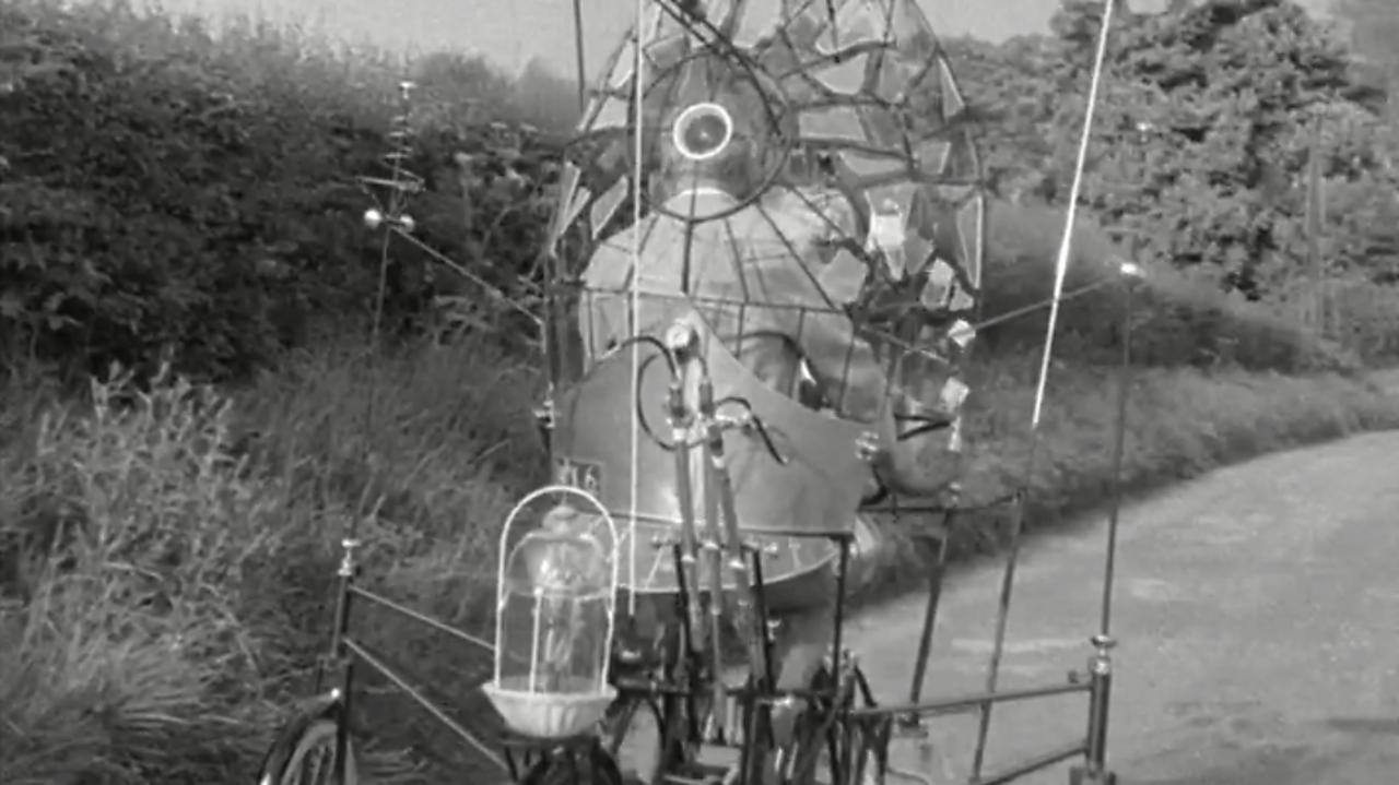 Rowland Emett's Lunar Bikes, 1970