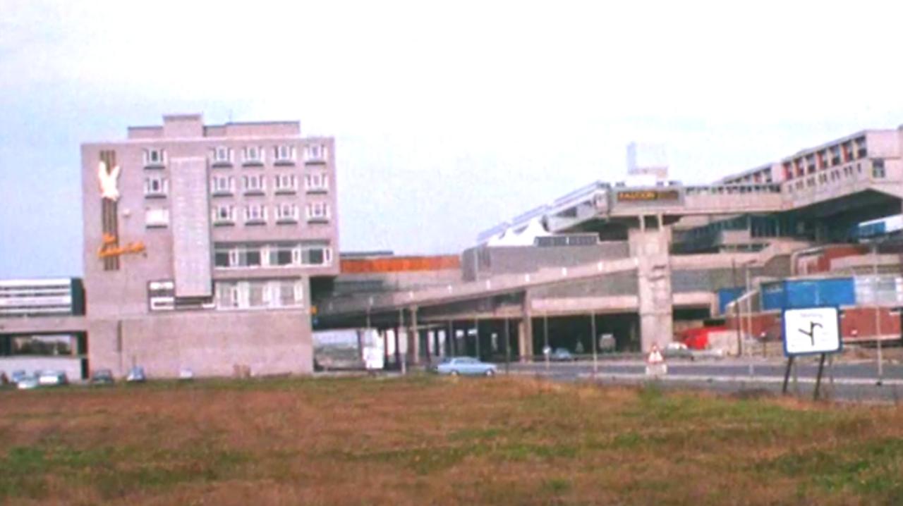 Cumbernauld new town, 1968