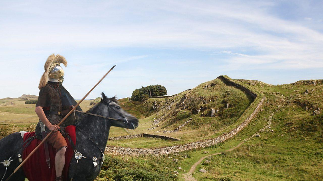 Roman on horseback