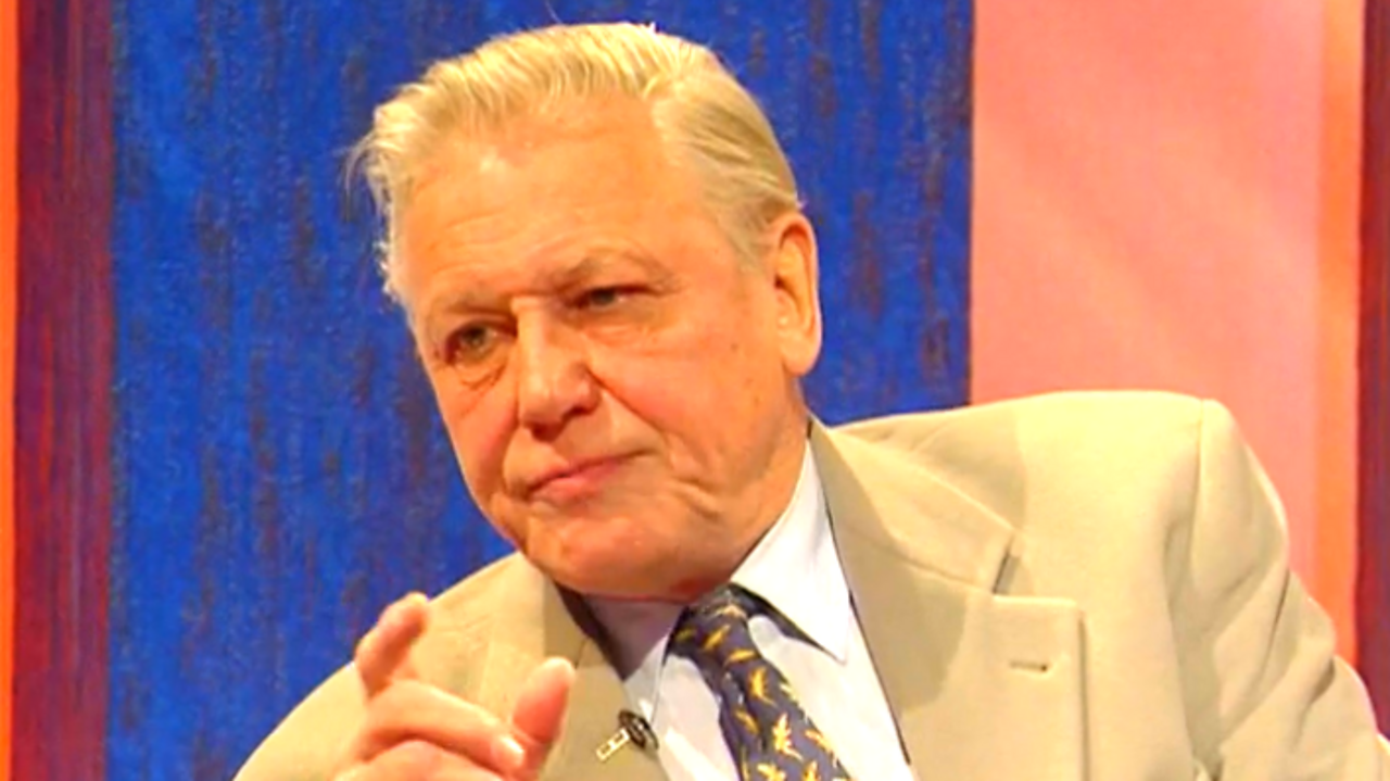 Sir David Attenborough on Parkinson, 1998