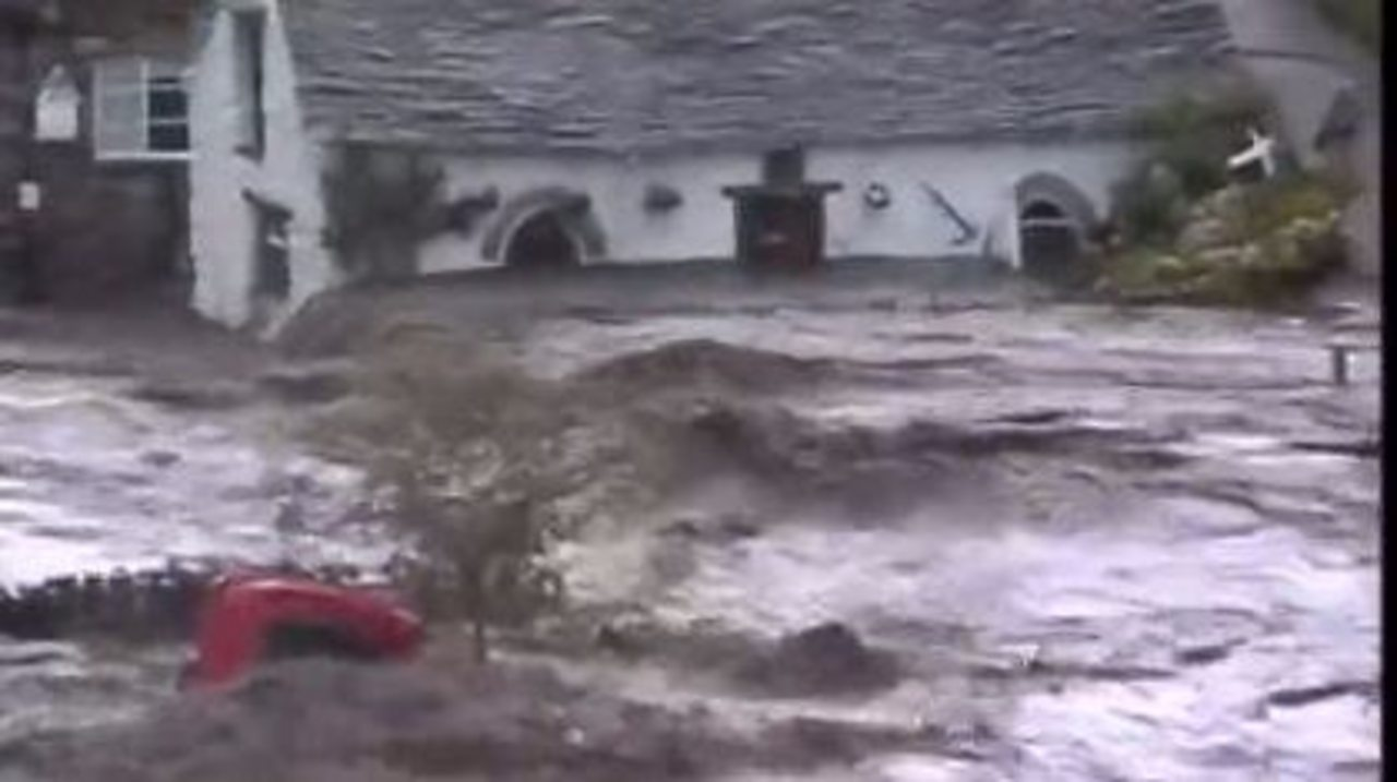 Ten of the worst weather events that shook Britain