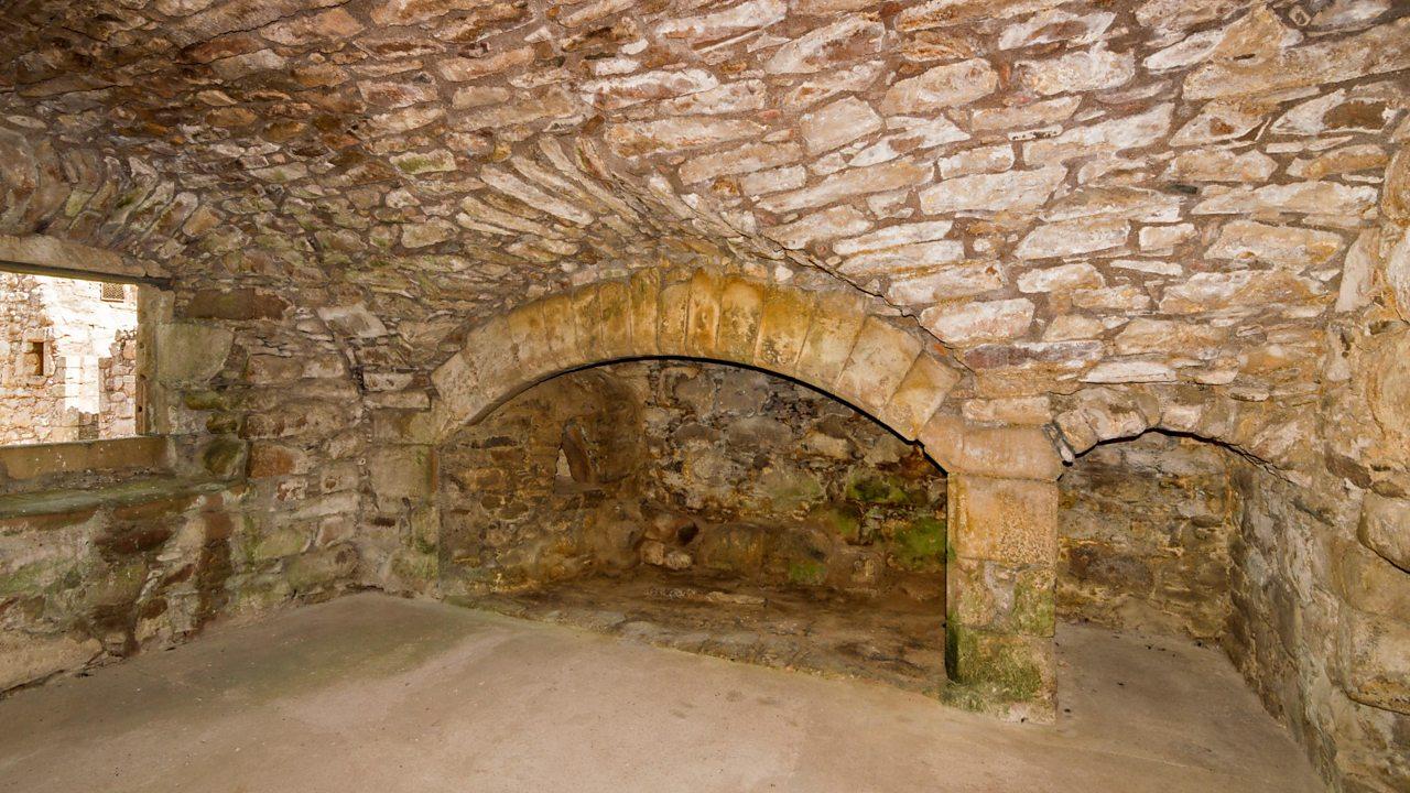 Oven at Tolquhon Castle