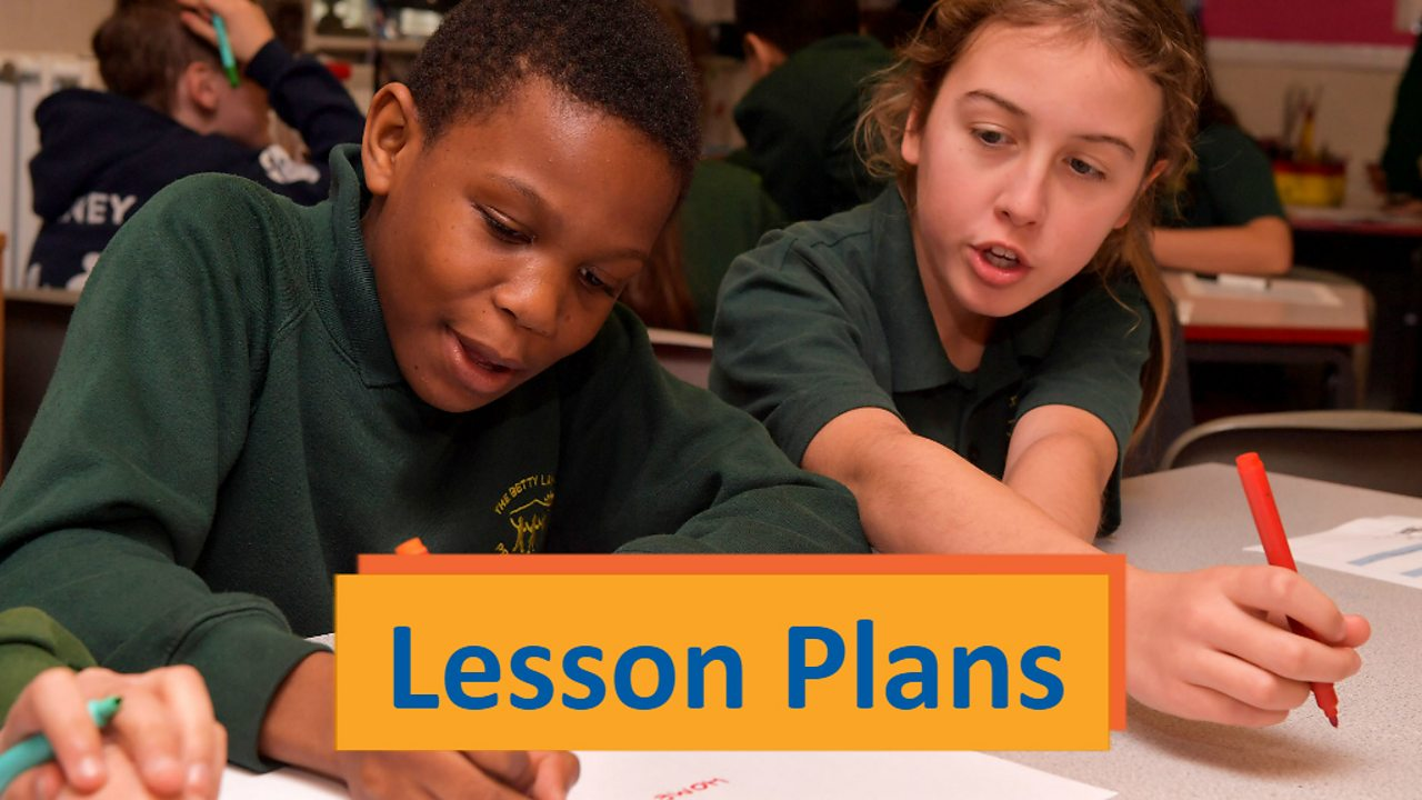 Lesson plans and resources