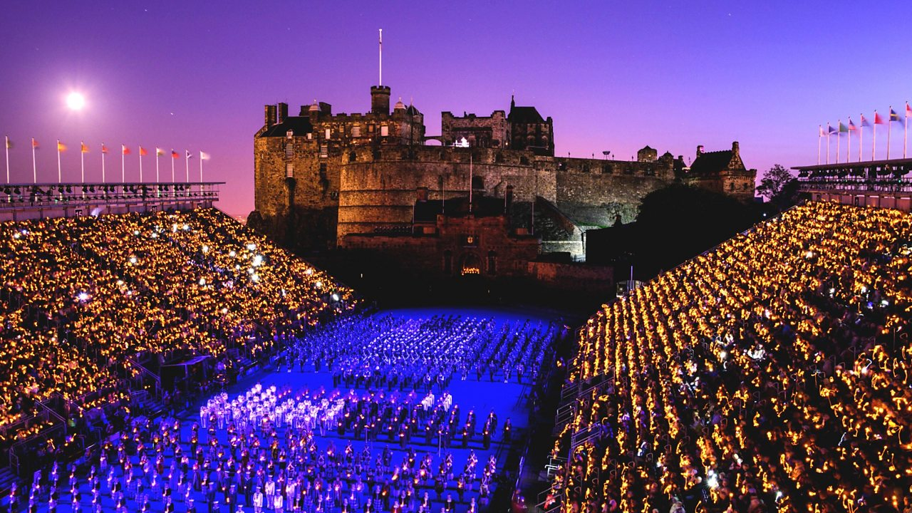 Edinburgh Castle during the Royal Edinburgh Military Tattoo