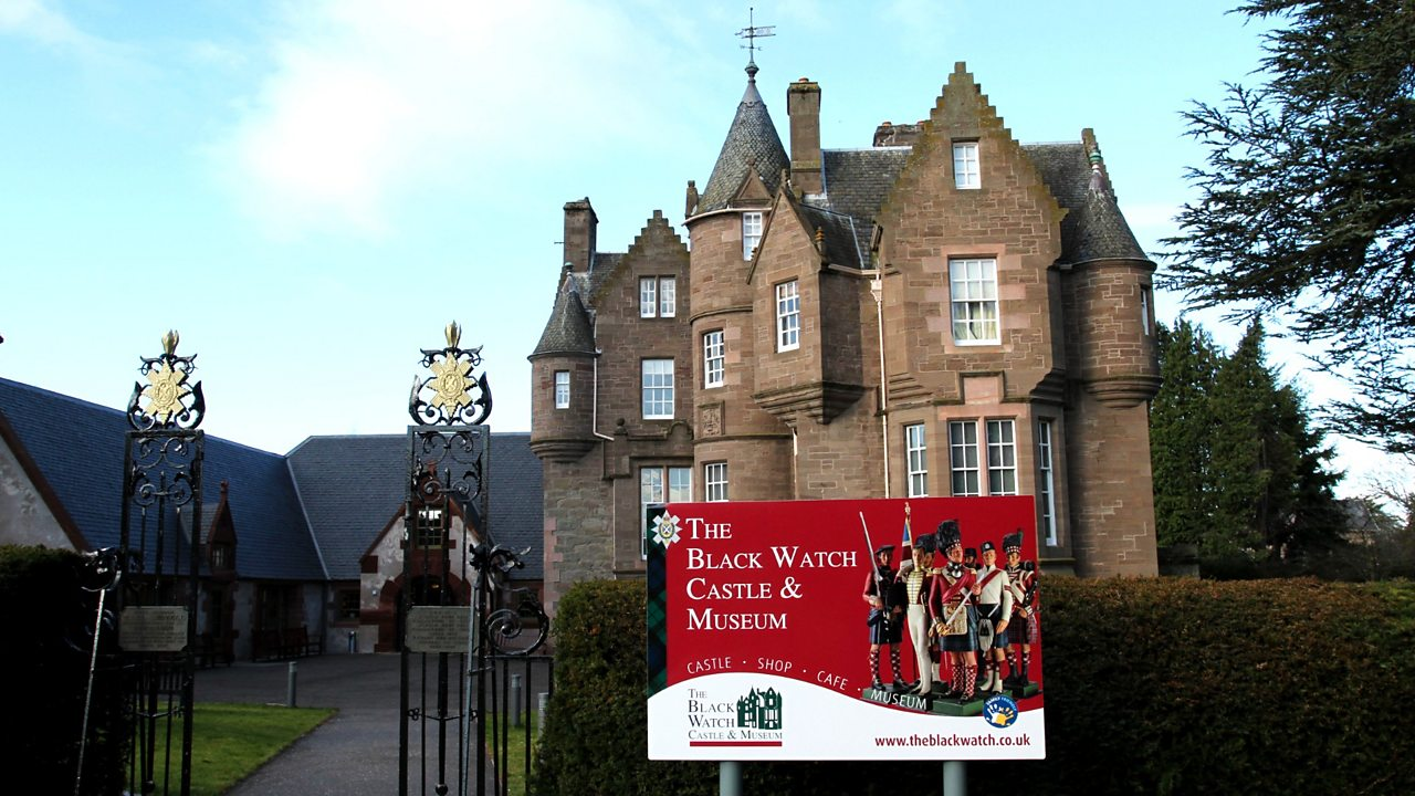 The Black Watch castle and museum