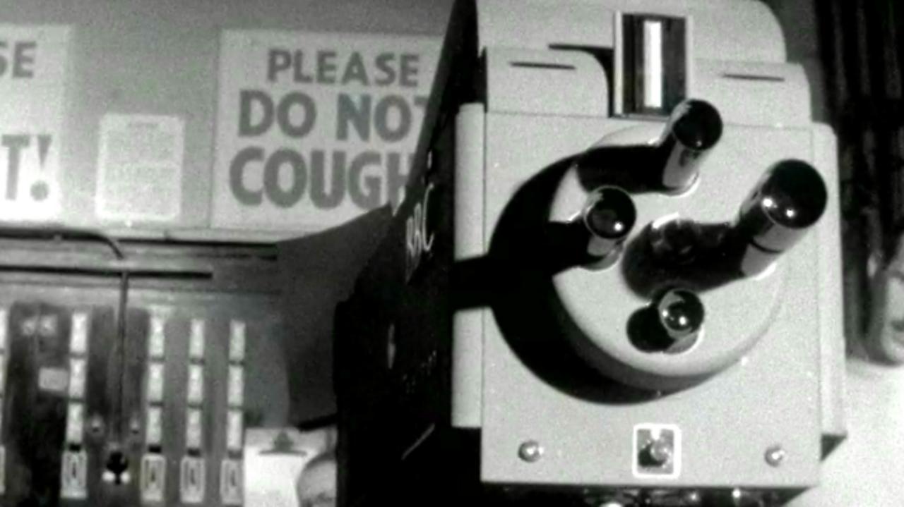 Colour TV Demonstration, 1957