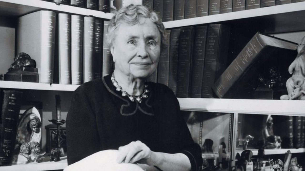 Helen Keller - The writer who proved her disability was not debilitating