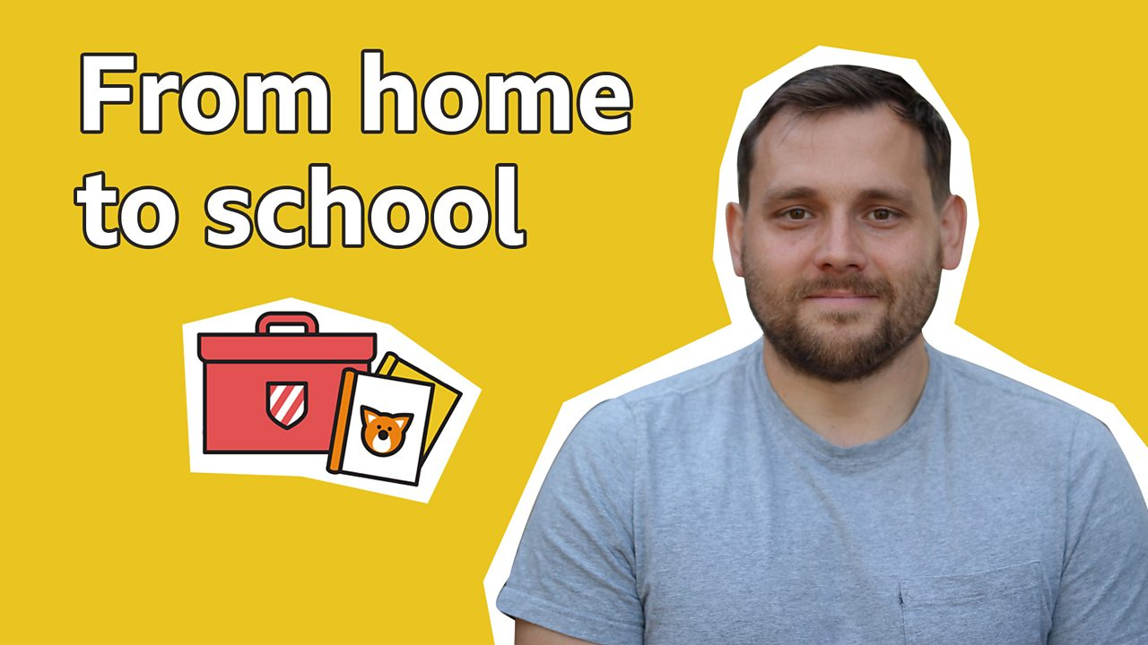 How to help with the transition from home to school