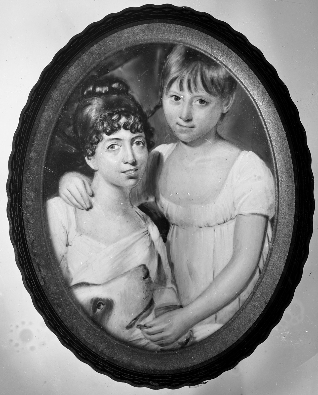 Painting of Mary Ann McCracken and her niece
