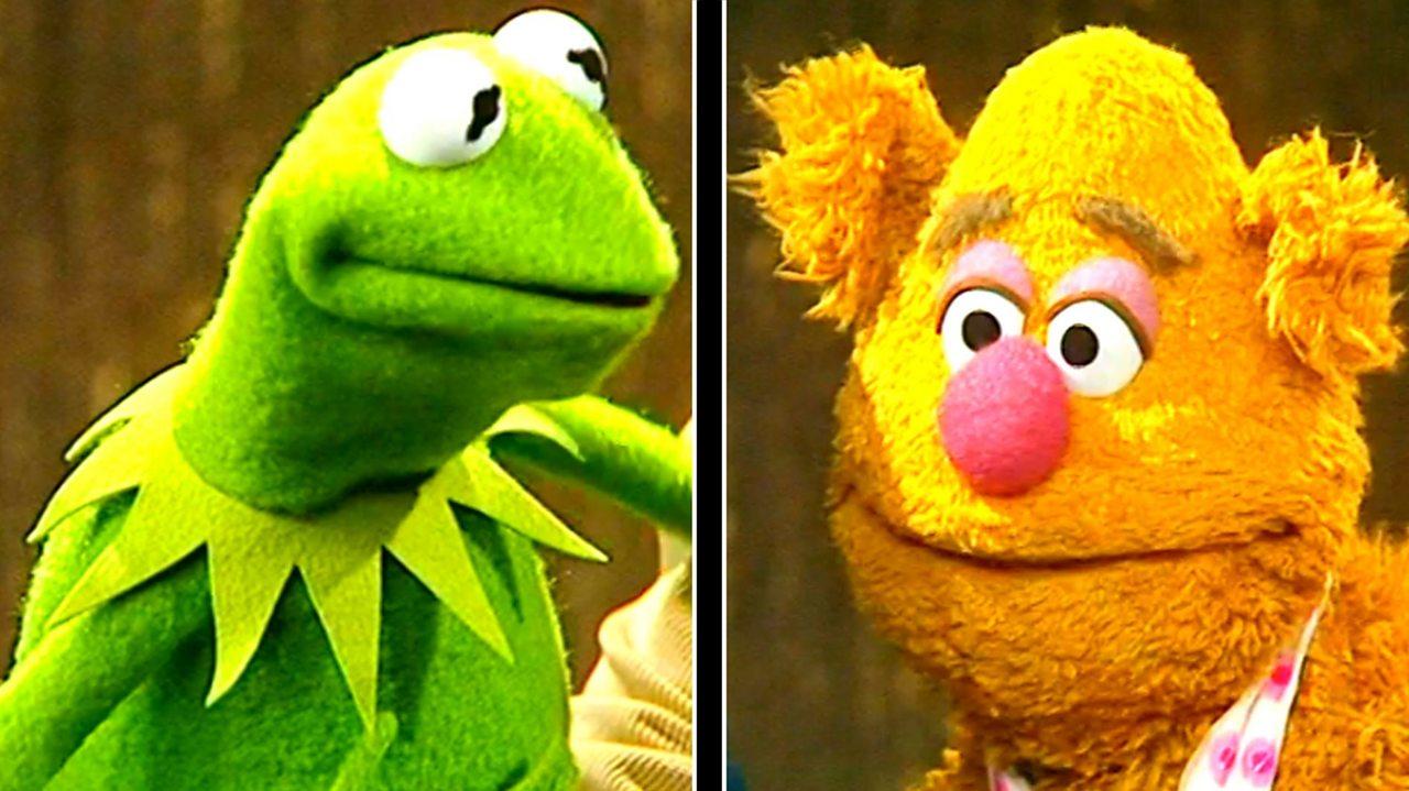 Kermit and Fozzie, 1978