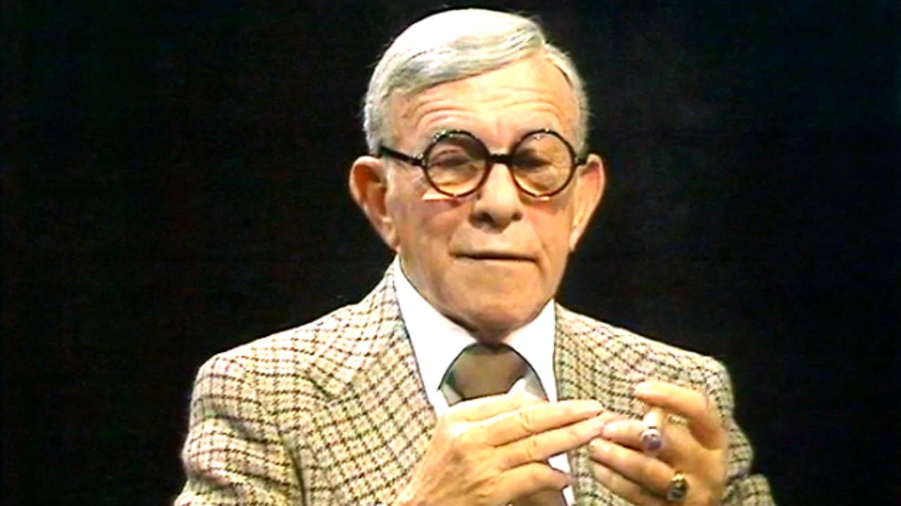 George Burns on Groucho Marx, 1976
