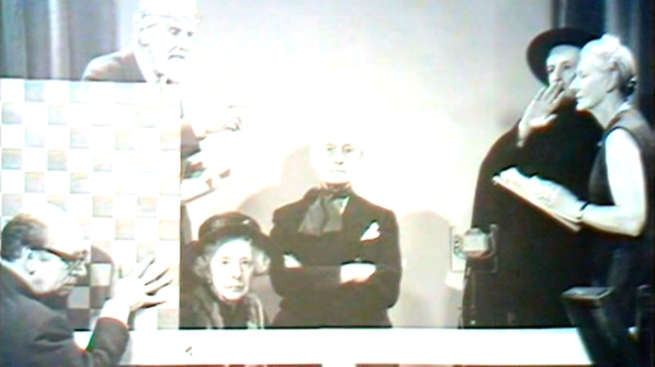 First experimental TV play recreated, 1970