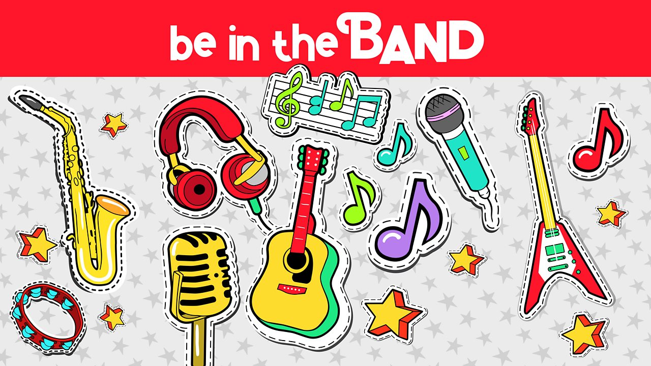 Be in the Band lyrics and lesson plans