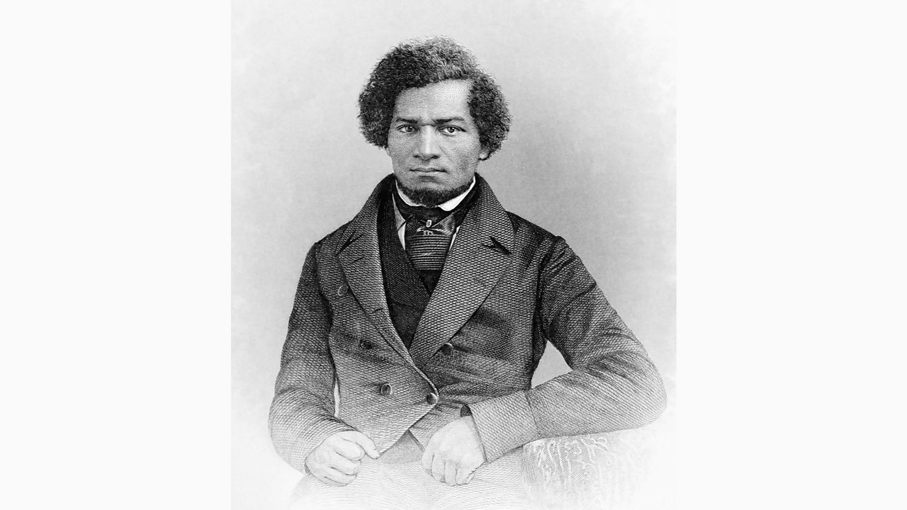 Photo of the anti-slavery writer and speaker Frederick Douglass