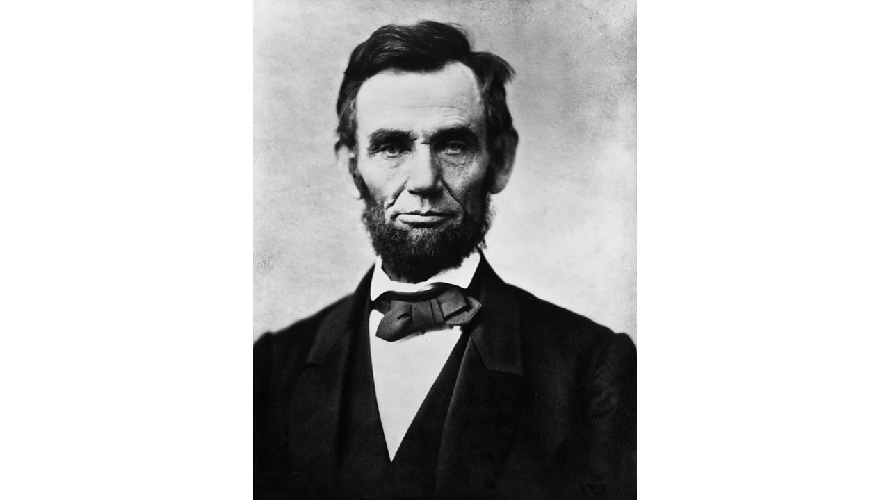 Photo of Abraham Lincoln, who was elected president of the United States in 1860.