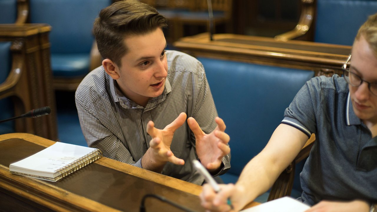 Dominic: Member of Youth Parliament