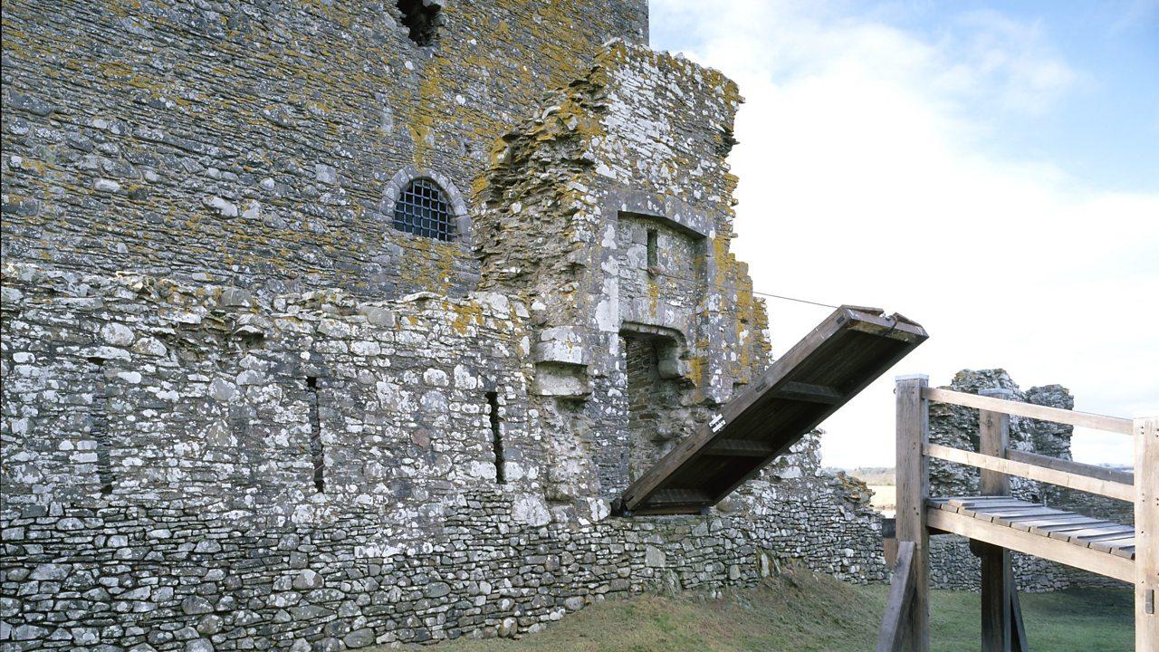 Drawbridge at Threave Castle