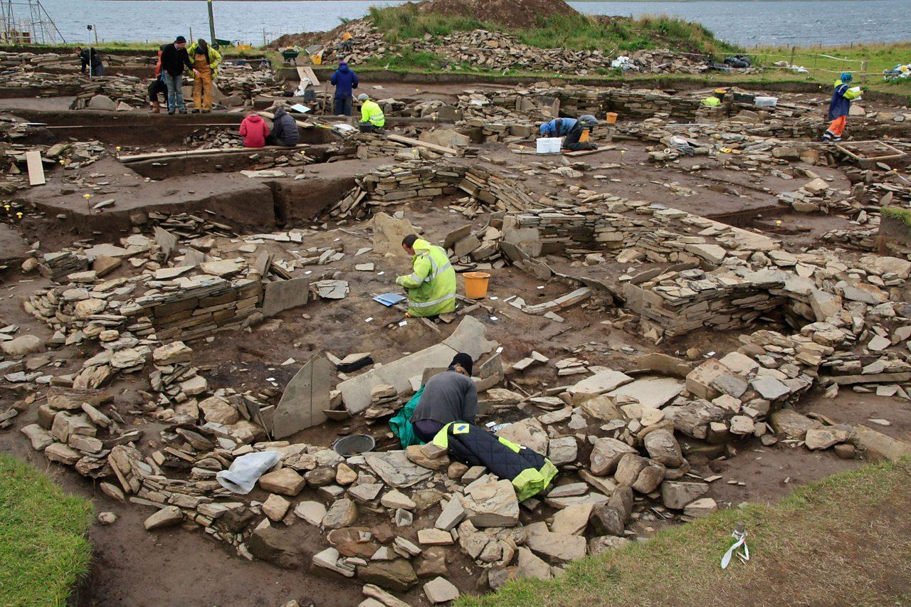 Rannsachadh arc-eòlach ann an Arcaibh