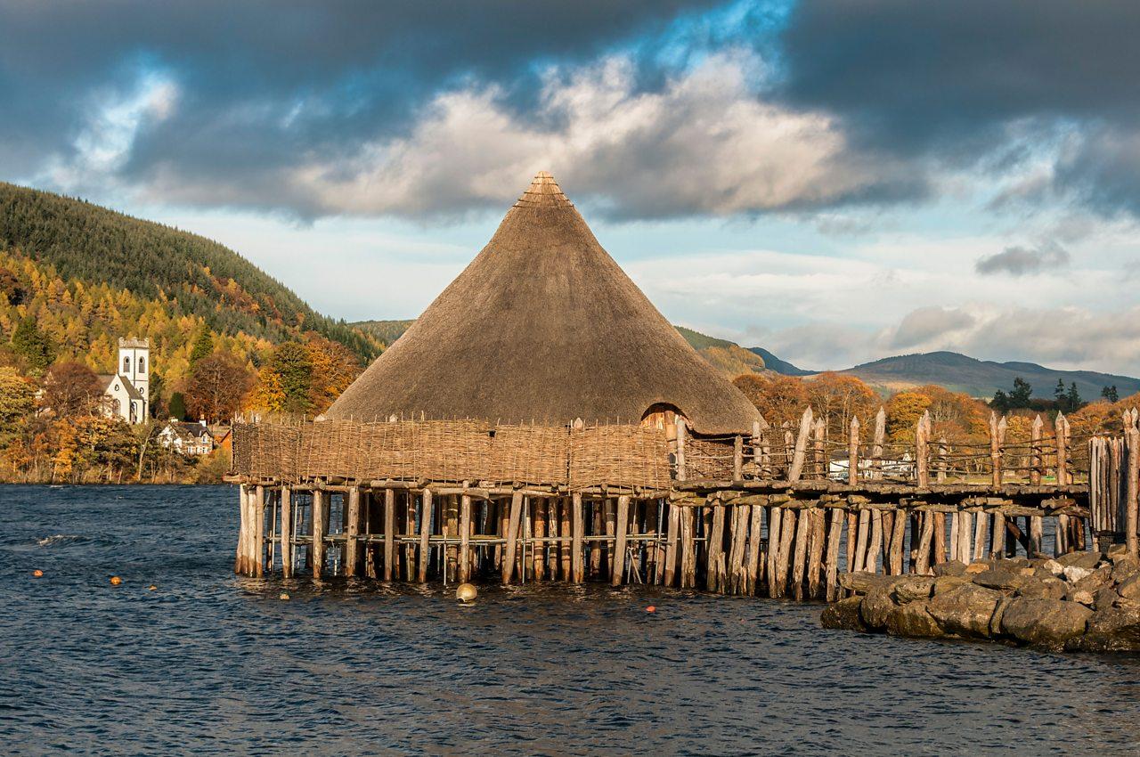Ionad Chrannagan na h-Alba air Loch Tatha ann an Siorrachd Pheairt