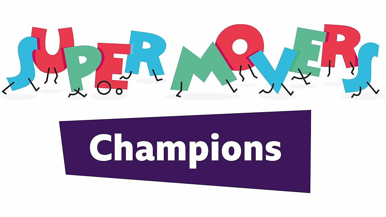 Make your pupils Super Movers Champions!