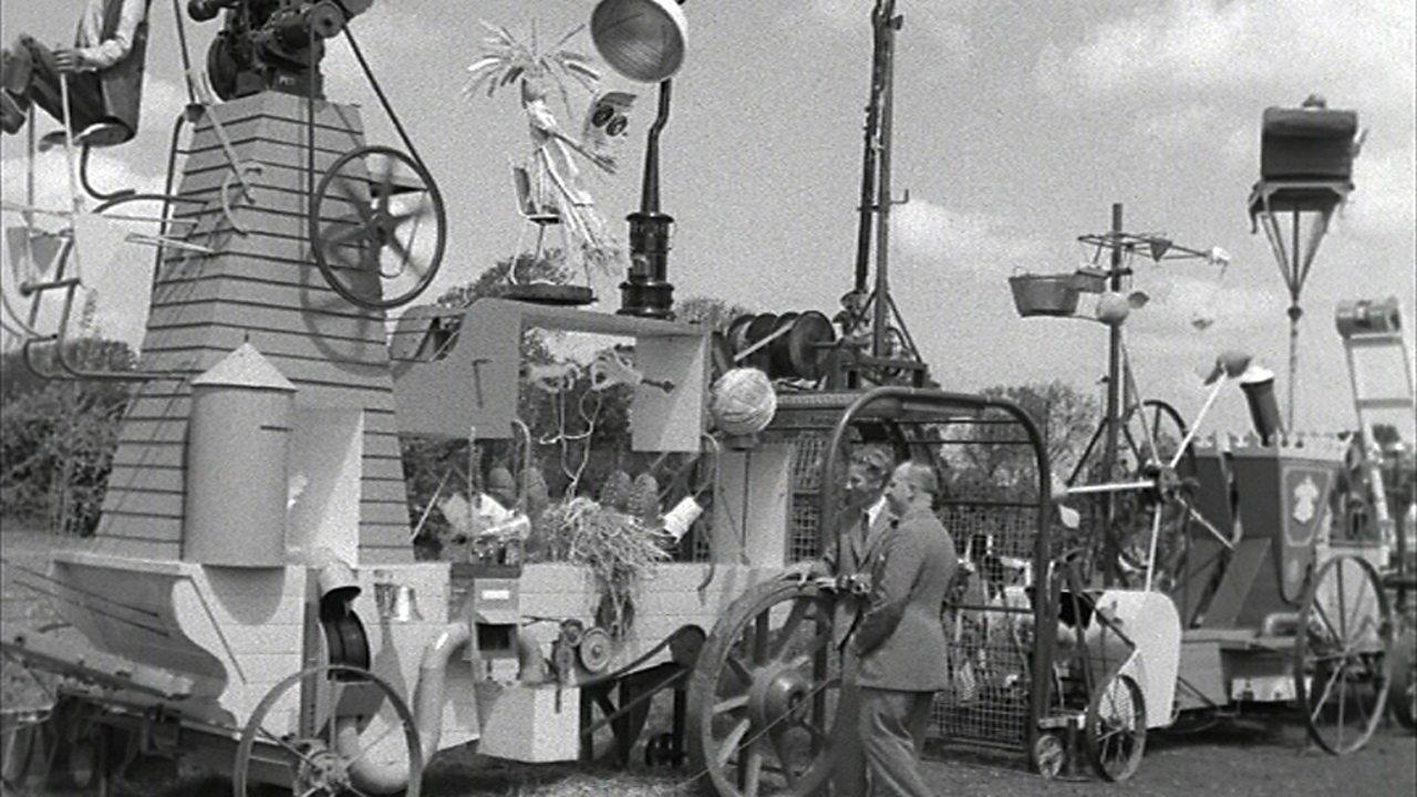 Rowland Emett's tractor, 1953