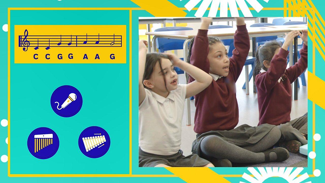 Teacher techniques - Teaching melodies