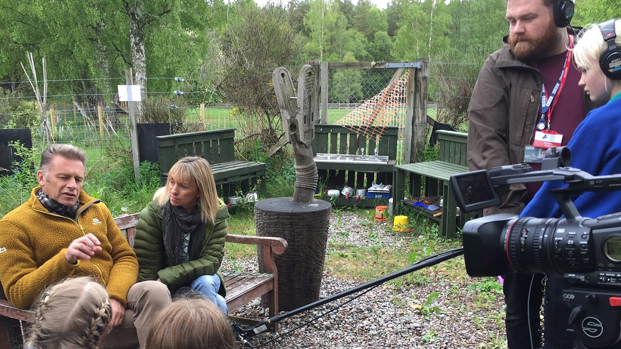 BBC Scotland - Springwatch comes to Abernethy Primary