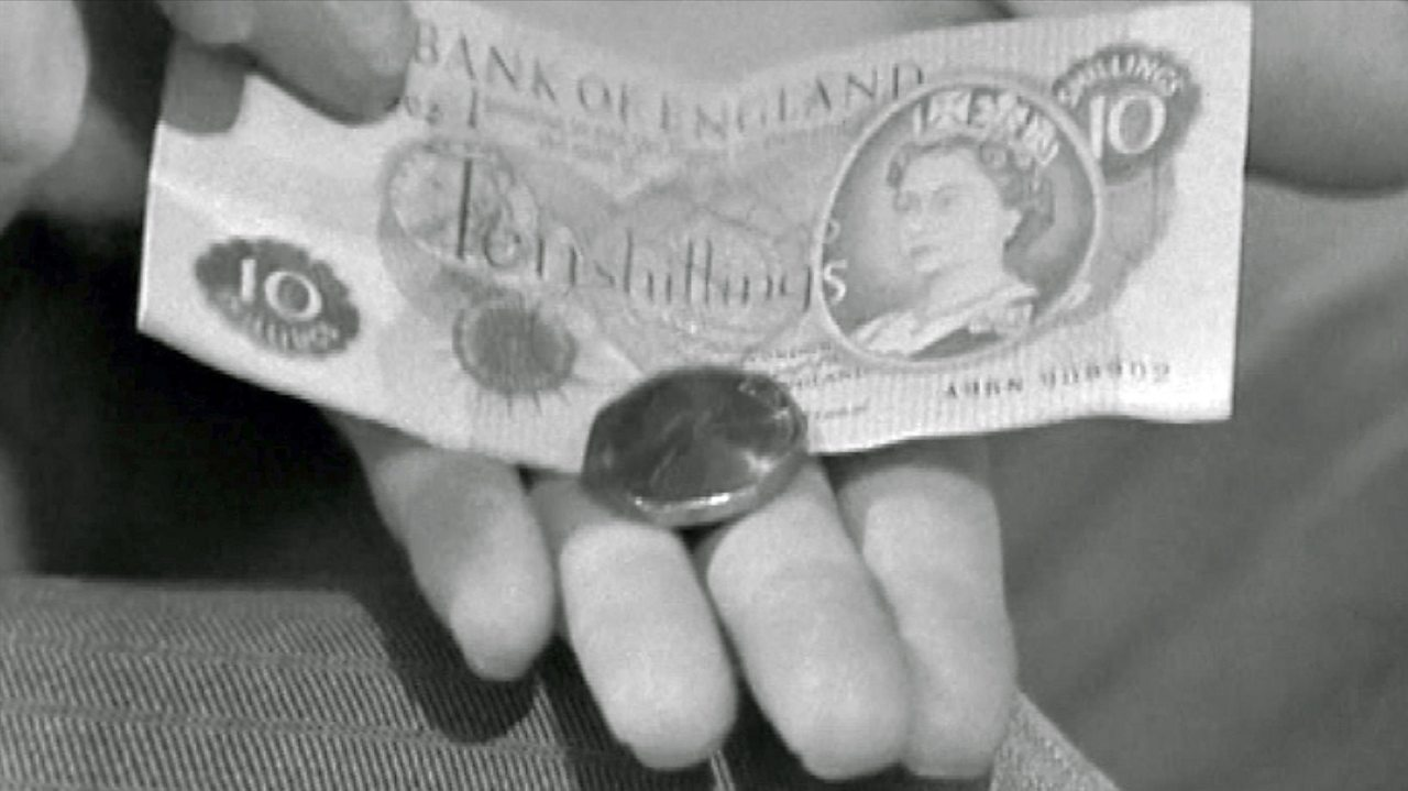 The new 50p coin, 1969