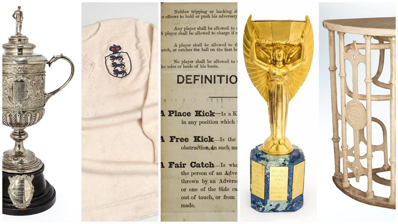 A history of the FA in five objects